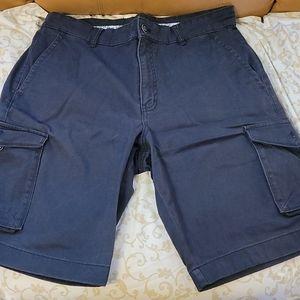 Joseph abboud navy cargo shorts
